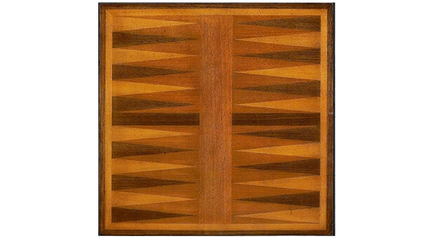 Wellington Backgammon Game Table - Playing Board