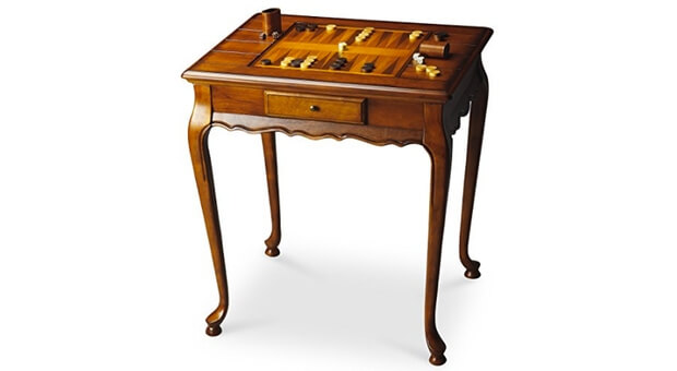 Wellington Backgammon Game Table